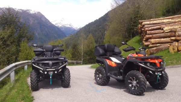 Geführte Quad - Touren  im Nationalparkgebiet  Hohe Tauern